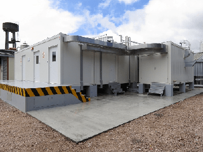 BIOSECURITY MODULAR FACILITY