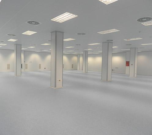 Clean Room: Système Tecnipure - Ingénierie de salles blanches