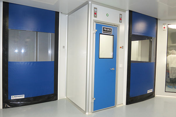 Portes roulantes - Ingénierie de salles blanches - Ingelyt