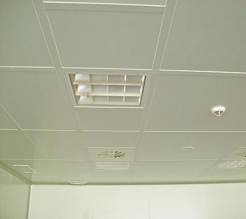 Ingénierie de salles blanches - Plafonds non visitables
