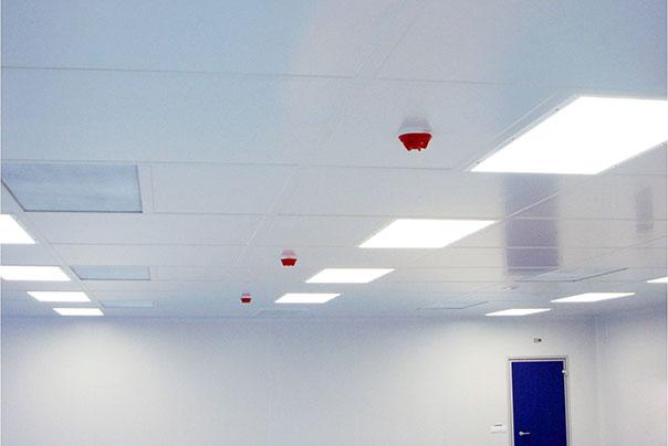 Plafonds non visitables - Ingénierie de salles blanches - Ingelyt