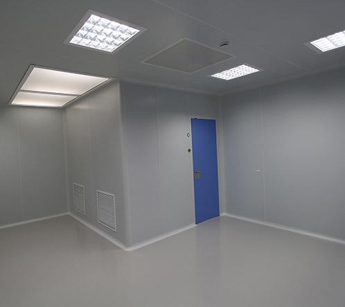 Panneaux Tecnipure Tôle - Ingénierie de salles blanches