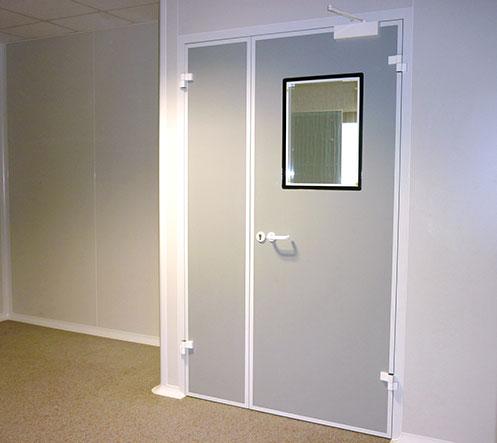 Ingénierie de salles blanches - Portes de Résine Phénolique