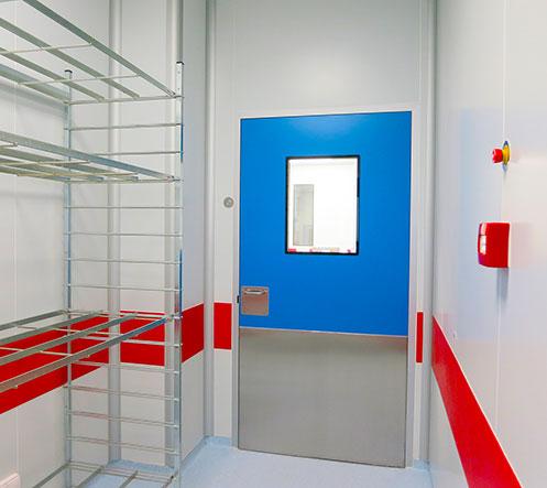 Ingénierie de salles blanches - Ingelyt - Portes de Résine Phénolique