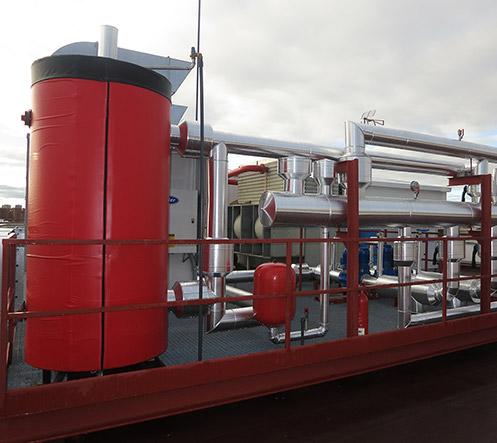 Systèmes de traitement de l'air - Ingénierie de salles blanches