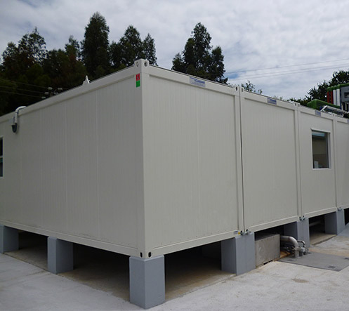 Solutions modulaires - salles blanches