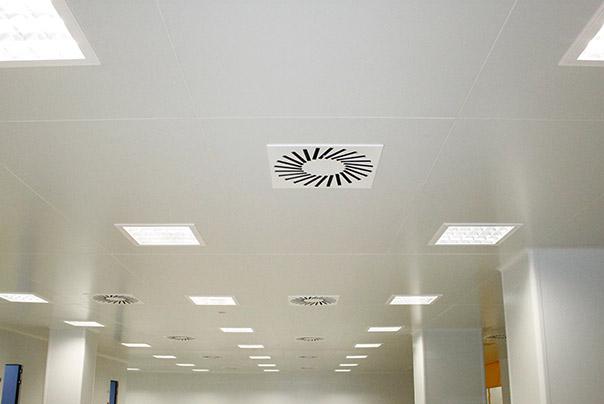 Plafonds visitables - Ingénierie de salles blanches - Ingelyt