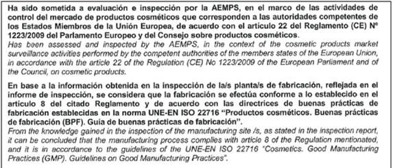 Buenas prácticas de fabricación (GMP) en la fabricación de cosméticos2