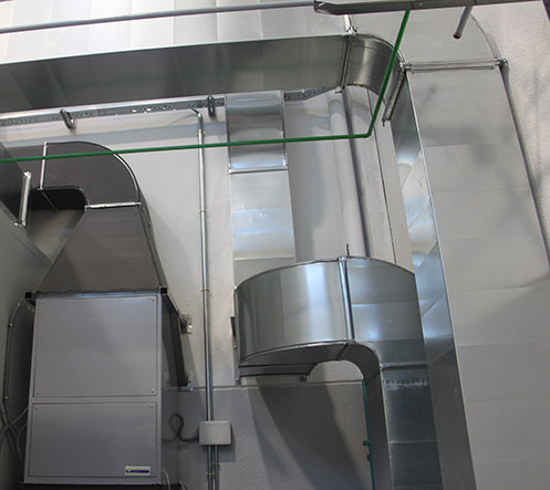 Air treatment systems - clean rooms