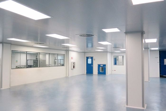 Clean rooms - Construction - Ingelyt Clean Room Engineering - GMP Consulting