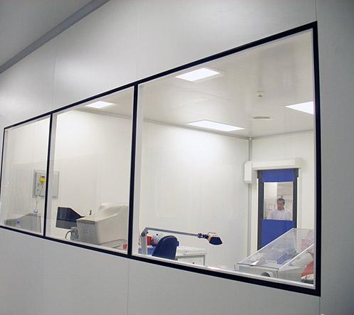Fenêtres - Ingelyt - Ingénierie de salles blanches
